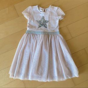 6-7 years old light pink dress